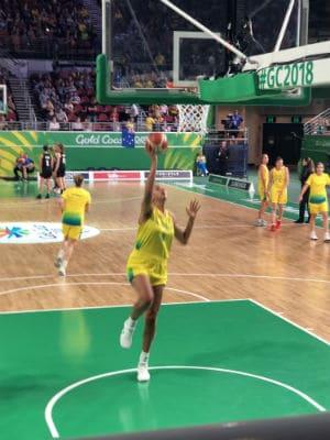 Australian Basketball champion Liz Cambage