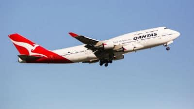 Qantas plane